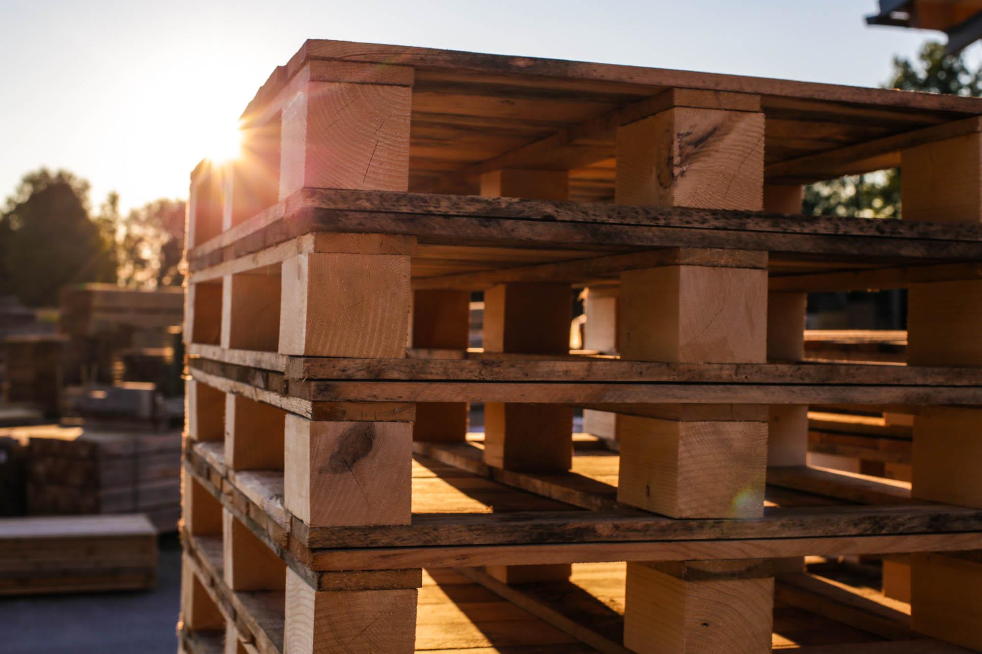 Holzpaletten